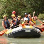 campamento verano - rafting