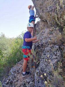 Campamento verano- via ferrata